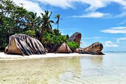 Anse Quelle d Argent, Seychellen