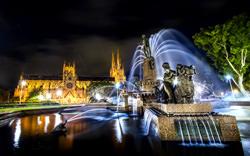 Archibald Springbrunnen, Australien