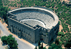 Aspendos Amphitheatre, Turkey