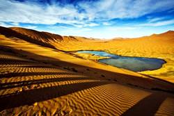 Badain Jaran Dunes, China