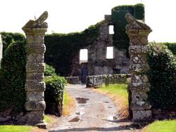 Baldoon Schloss, Vereinigtes Königreich