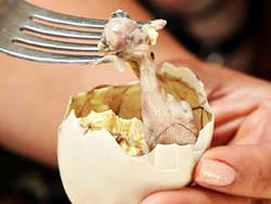 Balut in Siem Reap Restaurants, Cambodia