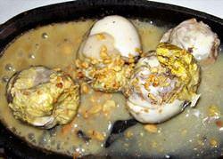Balut in Siem Reap Restaurants, Kambodscha