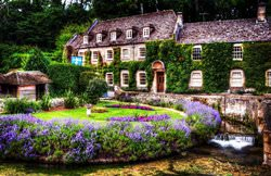 Bibury Town, United Kingdom