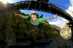 Thrilling points for bungee jumping