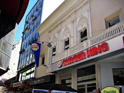 Burger King in Buenos Aires, Argentinien