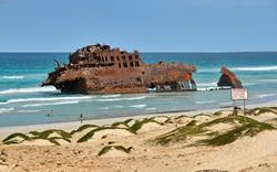 SS Ayrfield wreck in Sydneys Homebush Bay - see below