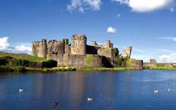 Caerphilly Castle, United Kingdom
