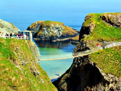 Carrick-a-Rede Bridge, Northern Ireland
