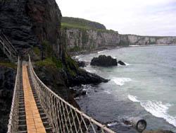 Puente Carrick a Rede, Irlanda del Norte