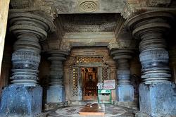 Carved Pillars Shravanabelagola, India
