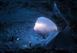 Пещера ледника Сэнди, США