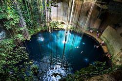 Cenote Ik Kil Well, Mexico