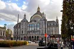 Центральный вокзал Антверпена, Бельгия