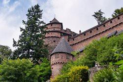 Замок Верхний Кенигсбург, Франция