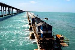 Chennai-Rameswaram Eisenbahn