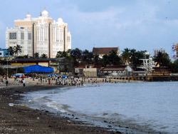 Chowpatty Beach, India