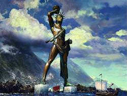The Colossus of Rhodes, Greece