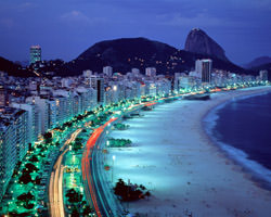 Пляж Копакабана, Бразилия