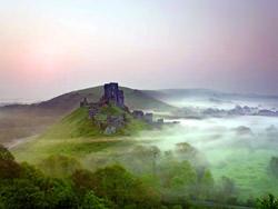 Corfe Castle, England