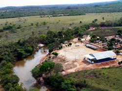 Araguainha Crater, Brazil