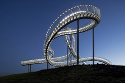 Tiger and Turtle Treppe