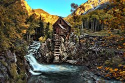 Crystal Mill, USA