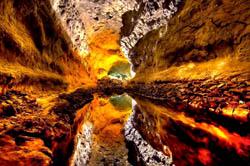 Cueva de Los Verdes Höhle, Spanien