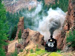Cumbres & Toltec Scenic Railroad Eisenbahn, Vereinigte Staaten