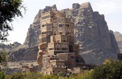 Dar Al-Hajar Palast, Jemen