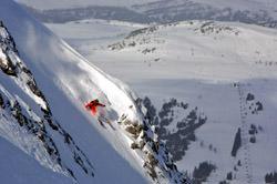 Delirium Dive Ski Slope, Canada