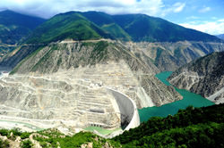 Deriner Dam, Turkey