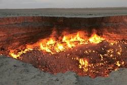 Врата ада Derweze, Туркменистан