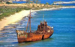 Обломки судна «Димитрос П»