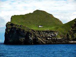 Ellidaey Island, Island