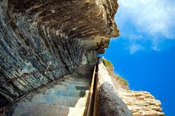 Escaliers du Roy d Aragon