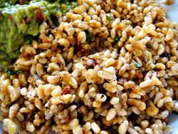 Eskamoles Ant Eggs in Mexico Restaurants, Mexico