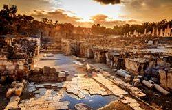 Останки первых древних городов