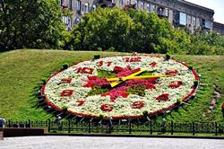 Floral Clock on Poklonnaya Gora