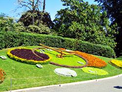 Flower Clock in the English Garden, Switzerland