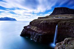 Gasadalur Village, Färöer Inseln