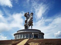 Dschingis Khan Statue, Mongolei