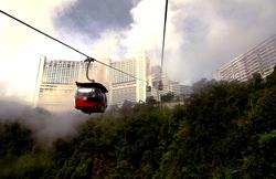 Gentig Drahtseilbahn, Malaysia