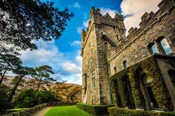 Замок Гленвей, Ирландия