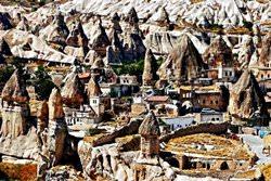 Göreme Stadt, Türkei