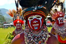 Goroka Stamm, Indonesien - Papua-Neuguinea