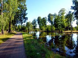 Gota kanal, Schweden