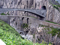 Gotthard-Strassen tunnel, Switzerland
