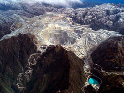Grasberg Mine, Indonesien