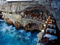 Grotta Palazzese Restaurant, Italy